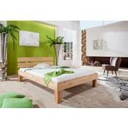 Futonbett Julia 90x200 cm Buche Massiv - Naturfarben, Design, Holz (90/200cm) - Bessagi Home