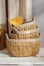 Regalkorb Gaven L - Naturfarben/Weiß, KONVENTIONELL, Kunststoff/Weitere Naturmaterialien (37/31/15cm) - Ombra