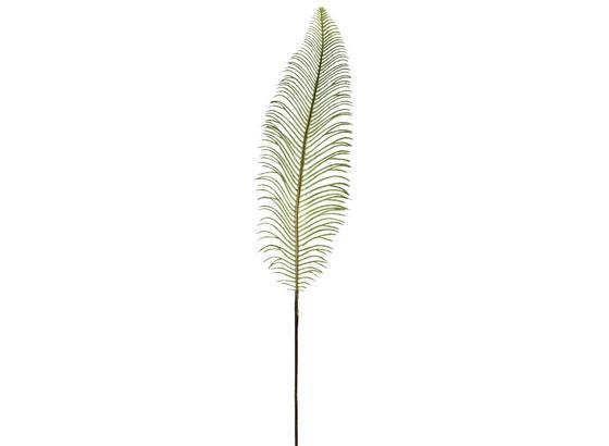 Dekoblatt Rufino - Grün, Natur, Kunststoff (82cm)