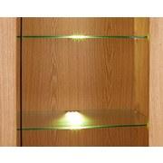 Glasbodenbeleuchtungs-Set Universal, 6-fach - Alufarben, MODERN, Kunststoff/Metall