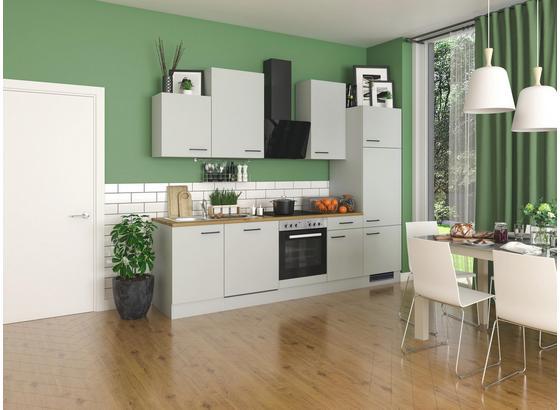 Küchenblock Silva G-280-2301-017 - Eichefarben/Hellgrau, Design, Holzwerkstoff (280cm) - FlexWell.ai