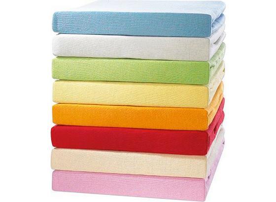 Jersey-spannleintuch Tamara 60x120 cm - Blau/Pink, KONVENTIONELL, Textil (60/120cm) - Ombra