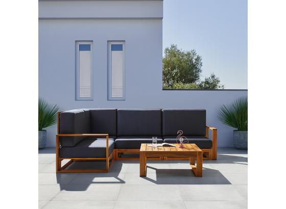 Záhradní Sedací Souprava Kerry - šedá, Moderní, dřevo/textil - Modern Living