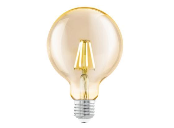 LED-Leuchtmittel 4 W 2200 K 330 lm - Klar, Basics, Glas (14,5cm)