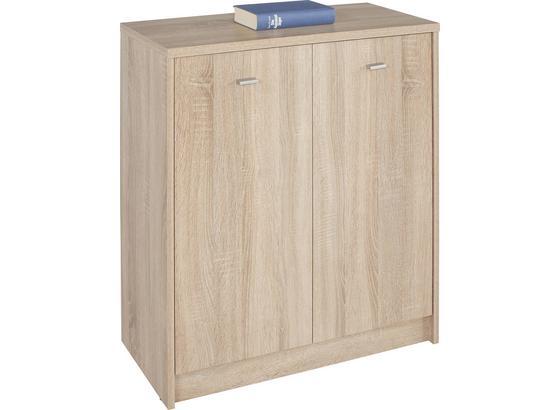 Komoda 4-you Yuk03 - farby dubu, Moderný, kompozitné drevo (74/85,4/35,2cm)