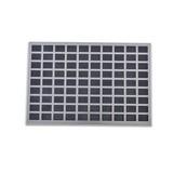 Fußmatte Alessia - Schwarz, MODERN, Kunststoff/Metall (40/60cm) - LUCA BESSONI