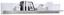 Wandboard Toronto - Hellgrau/Weiß, MODERN, Holzwerkstoff (165/25/21cm) - Ombra