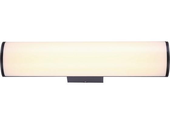 LED-Außenleuchte Lisa - Opal/Grau, MODERN, Kunststoff/Metall (30/6,5/9,5cm)