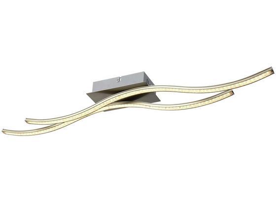 Deckenleuchte Nala - Nickelfarben, MODERN, Metall (70cm) - Luca Bessoni