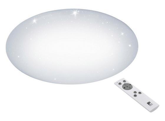 LED-Deckenleuchte Giron-s Ø 57 cm - Weiß, MODERN, Kunststoff/Metall (57/7,5cm)