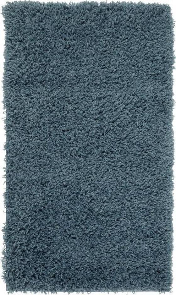 Koberec S Vysokým Vlasem Bono 2 -based- - modrá, Konvenční, textil (100/150cm) - Based