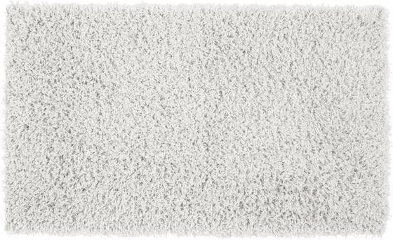 Koberec S Vysokým Vlasem Cenový Trhák - bílá, Konvenční, textilie (100/150cm) - Based