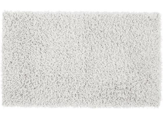 Koberec S Vysokým Vlasom Cenový Trhák - biela, Konvenčný, textil (100/150cm) - Based