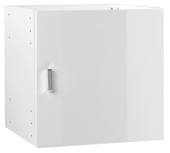 Skládací Systém Vkladací Prvok - biela, Moderný (35/35/33cm)