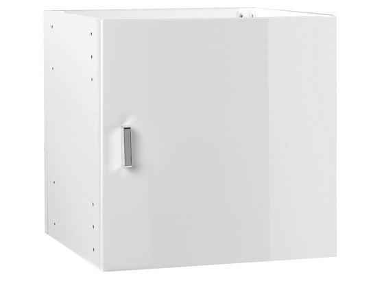 Vnitřní Police Vkladací Prvok - biela, Moderný (35/35/33cm)