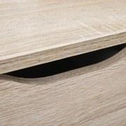 Kommode grifflos B 122cm Westphalen, Sonoma Eiche Dekor - Sonoma Eiche, Basics, Holzwerkstoff (122/50/40cm) - Livetastic