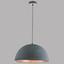 Hängeleuchte Sabi - Silberfarben/Grau, MODERN, Metall (41/120cm)