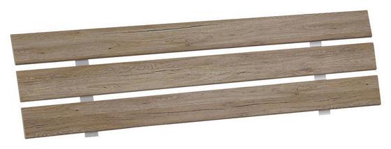 Záhlavie Belia - farby dubu, Konvenčný, drevo (127cm)