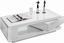 Couchtisch Chicago in Weiß mit Drehbarem Schubkasten - Weiß, MODERN, Holzwerkstoff (120/36/60cm)