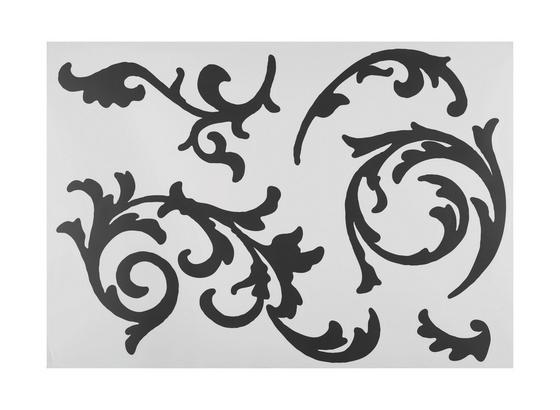 Nálepka Dekorační Ornament S Úponkami - černá, umělá hmota (50/70cm) - Mömax modern living