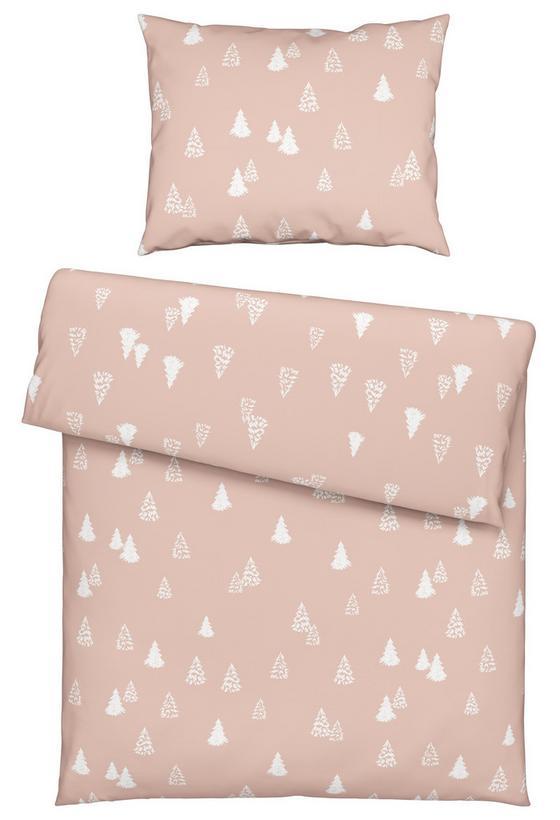Povlečení Winter Trees - růžová, Romantický / Rustikální, textil (140/200cm) - Mömax modern living