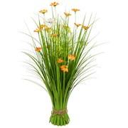 Grasbündel Aleli - Orange/Grün, Basics, Naturmaterialien/Kunststoff (30/70cm) - Ombra