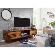 Lowboard Kada B: ca. 145 cm - Sheeshamfarben, Design, Holz (145/41/42cm) - Carryhome