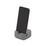 Držák Na Handy Lilo - šedá, Moderní, umělá hmota (7,77/7,77/3,81cm) - Mömax modern living