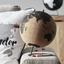 Glóbus Wander - hnedá/čierna, kov/drevo (20/25,8cm) - Premium Living