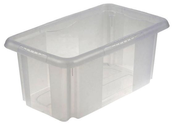 Aufbewahrungsbox Emil - Transparent, KONVENTIONELL, Kunststoff (35/20,5/15cm)