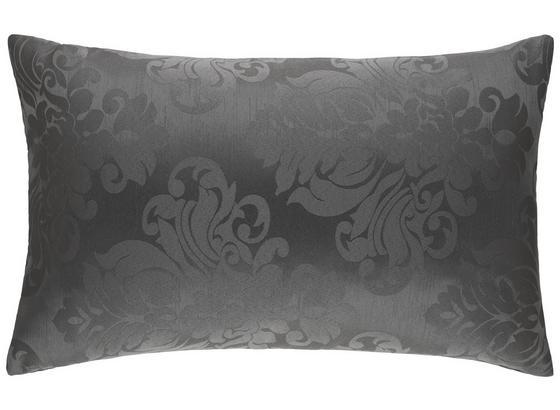 Polštář Ozdobný Charles - bílá/černá, Lifestyle, textil (40/60cm) - Mömax modern living