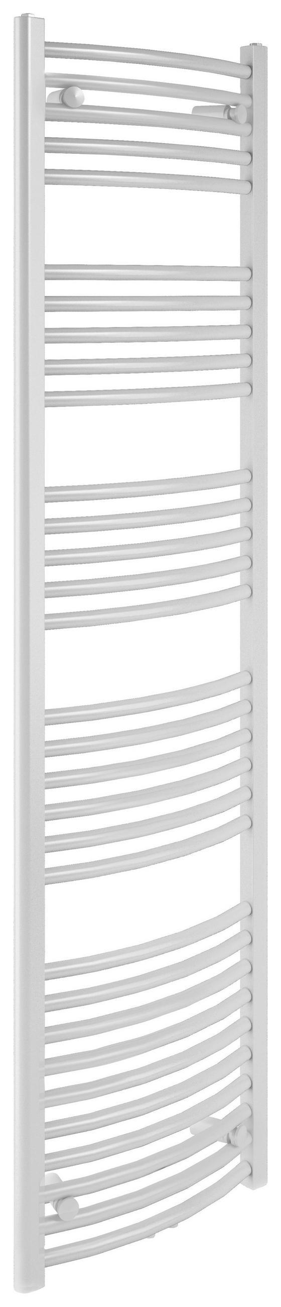 Badheizkörper Bari Gebogen,600x1785 mm - Weiß, Metall (60/178,5/12cm)