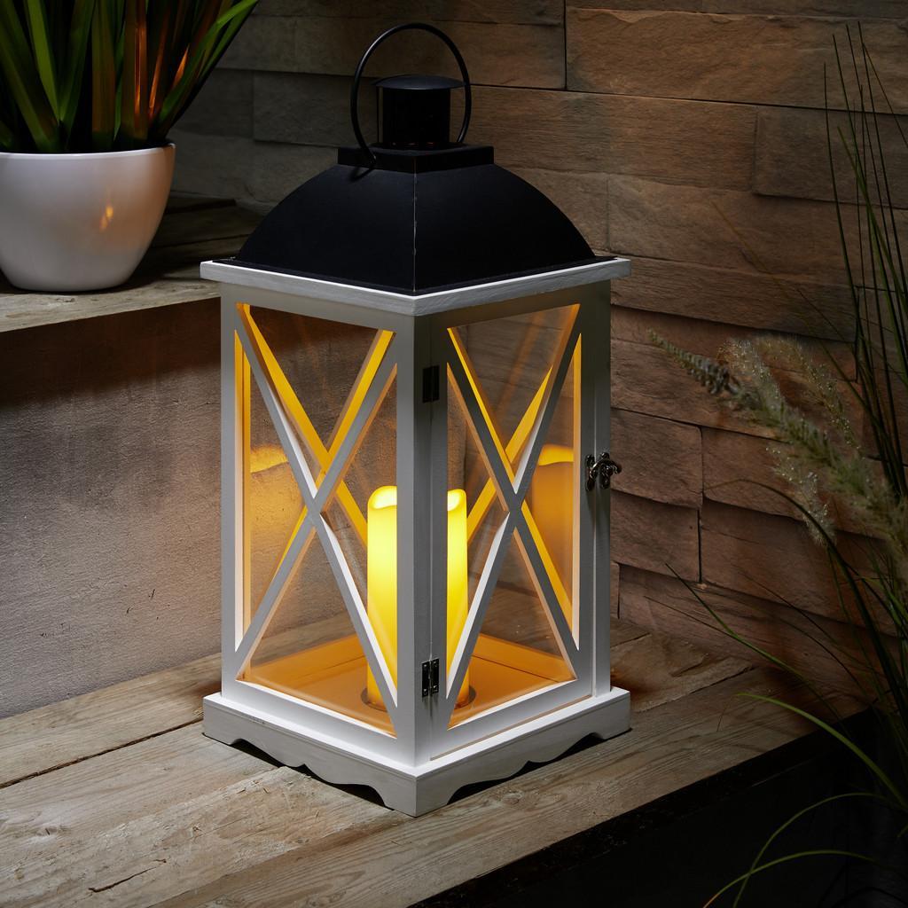 Laterna Včetně Led-svíčky Henric V. 50 Cm