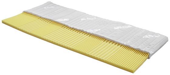Topper Omega H2 160x200cm - Weiß, Textil (160/200cm) - Primatex