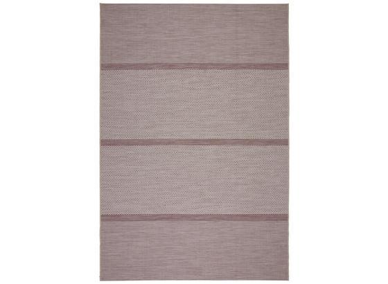 Hladko Tkaný Koberec Kate 3 - orgovánová/biela, Moderný, textil (160/230cm) - Modern Living