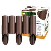 Gartenpalisade 2,3 M - Braun, MODERN, Kunststoff (5,5/25,5cm)