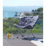 Zahradní Židle Cesia - barvy stříbra/světle šedá, Moderní, kov/textil (70/82/42cm) - MODERN LIVING