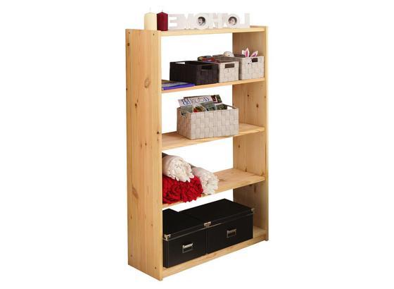 Bücherwand Moni B: 80,5 cm Kieferfarben - Kieferfarben, Basics, Holz (80,5/132/31cm) - Livetastic