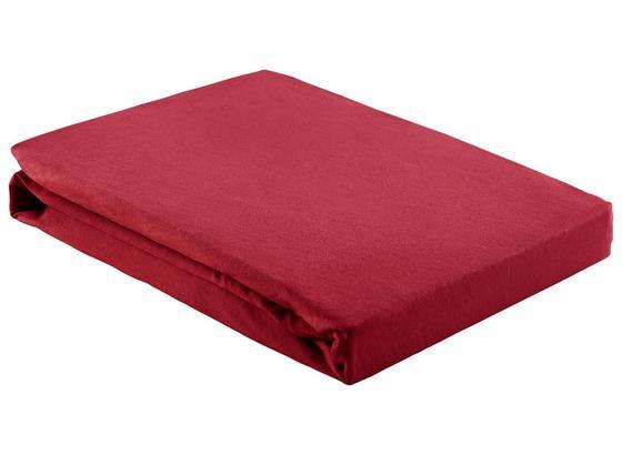 Prostěradlo Napínací Basic - bordeaux, textil (150/200cm) - Mömax modern living