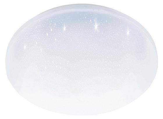 LED-Deckenleuchte Pogliola-S D: 31 cm Weiß - Weiß, Basics, Kunststoff/Metall (31/5,5cm)