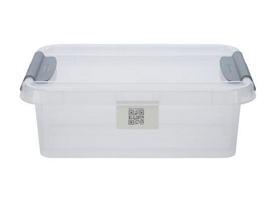 Uskladňovací Box Chaos - transparentné, Moderný, plast (51/39/16,9cm)