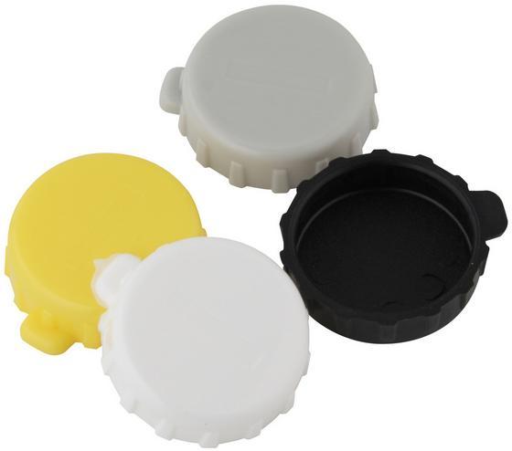 Üvegzáró Probus - sárga/fekete, konvencionális, műanyag (2cm)