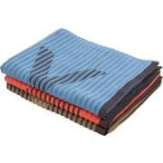 Saunatuch Relax - Blau, MODERN, Textil (80/200cm) - Luca Bessoni