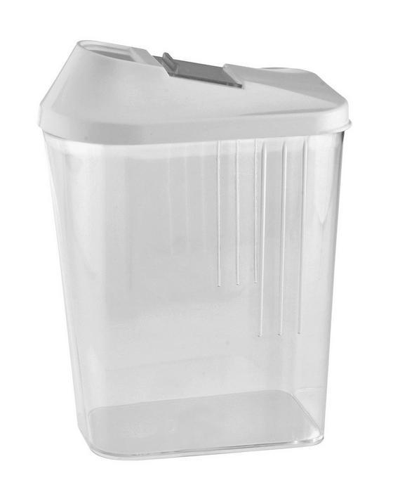 Konyhai Tároló 1,5 Liter - Zöld/Átlátszó, konvencionális, Műanyag (9,5/17,5/15cm)