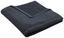 Osuška Anna - černá, textilie (70/140cm) - Mömax modern living