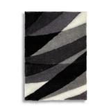Hochflorteppich Vera - Grau, Textil (120/170cm) - LUCA BESSONI