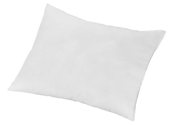 Polštář Katarina - Ext- - bílá, Konvenční, textil (40/50cm)