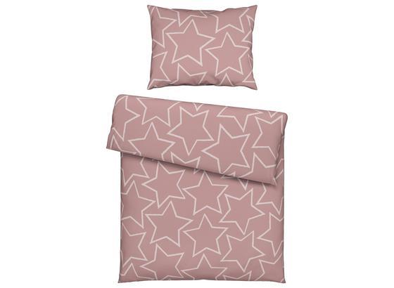 Posteľná Bielizeň Xena - sivá/ružová, textil (140/200cm) - Mömax modern living