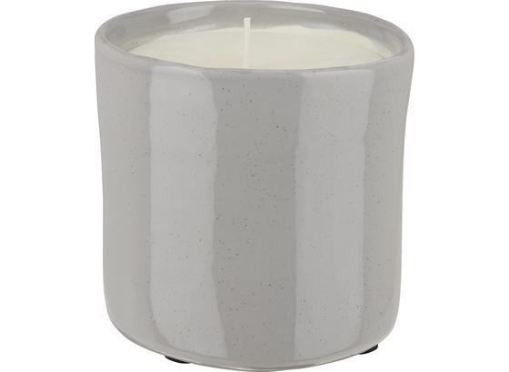 Sviečka V Kvetináči Aurora - pink/sivá, keramika (12/12cm) - Premium Living