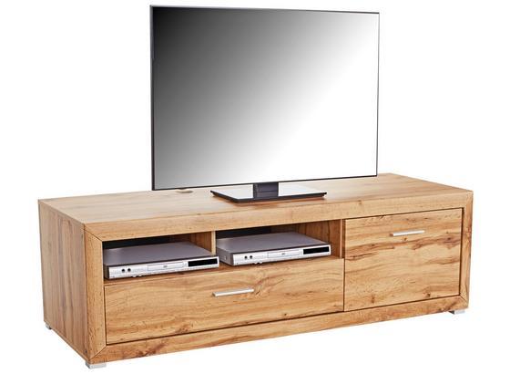 Tv Díl Tizio - barvy dubu, Moderní, kompozitní dřevo (171,3/48,4/49,5cm)